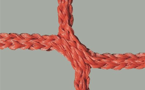 Tornetz für Wettkampftore 7,32 x 2,44 m in Rot