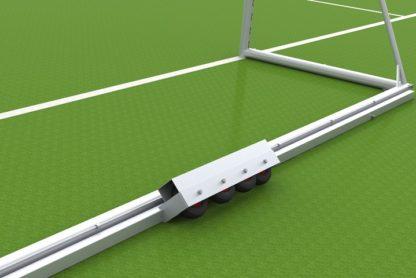 Fußballtor mit Kippsicherung von artec Sportgeräte in Auslage 1,50 m