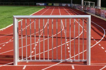 Minitor 1,80 x 1,20 m mit geschlossenem Hinternau von artec Sportgeräte im Ovalprofil
