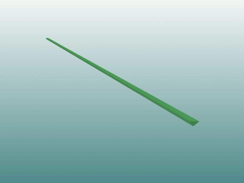 Plastilin für Kontrollstreifen gemäß IAAF-Regeln von artec Sportgeräte