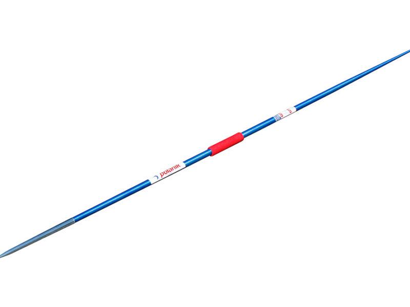 Wettkampf-Speer aus Aluminium mit verzinkter Stahlspitze