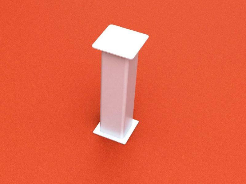 Bodenhülse Standard für Zielpfosten mit losem Deckel
