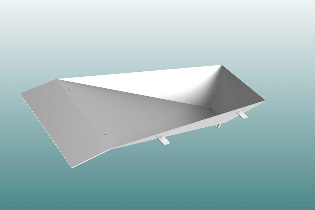 Einstichkasten mit Arretierung aus Edelstahl