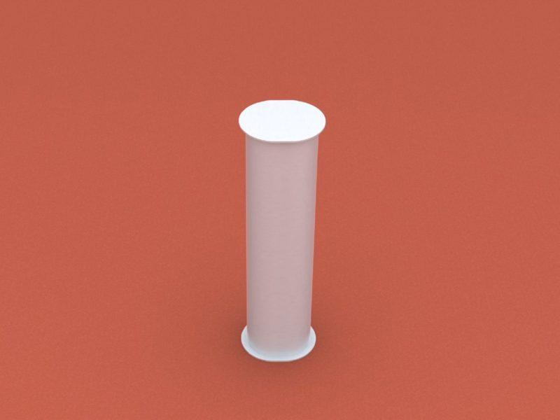 Bodenhülse Standard für Diskuswurfschutzgitter