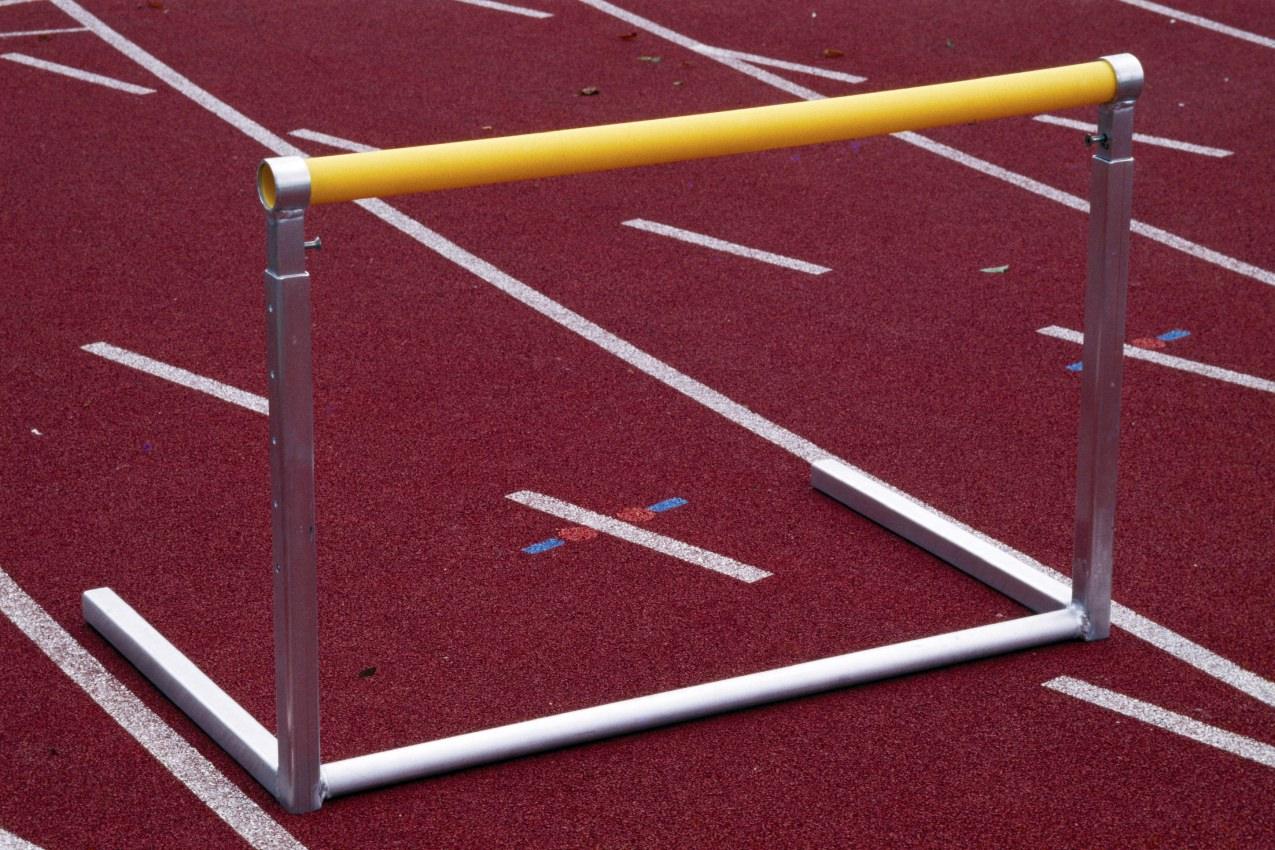 Hürde für das Training und den Schulsport
