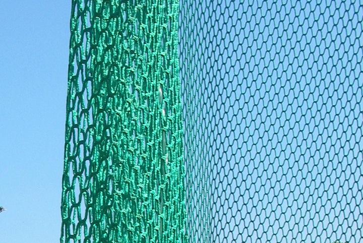Netz für Hammer- und Diskuswurfschutzgitter