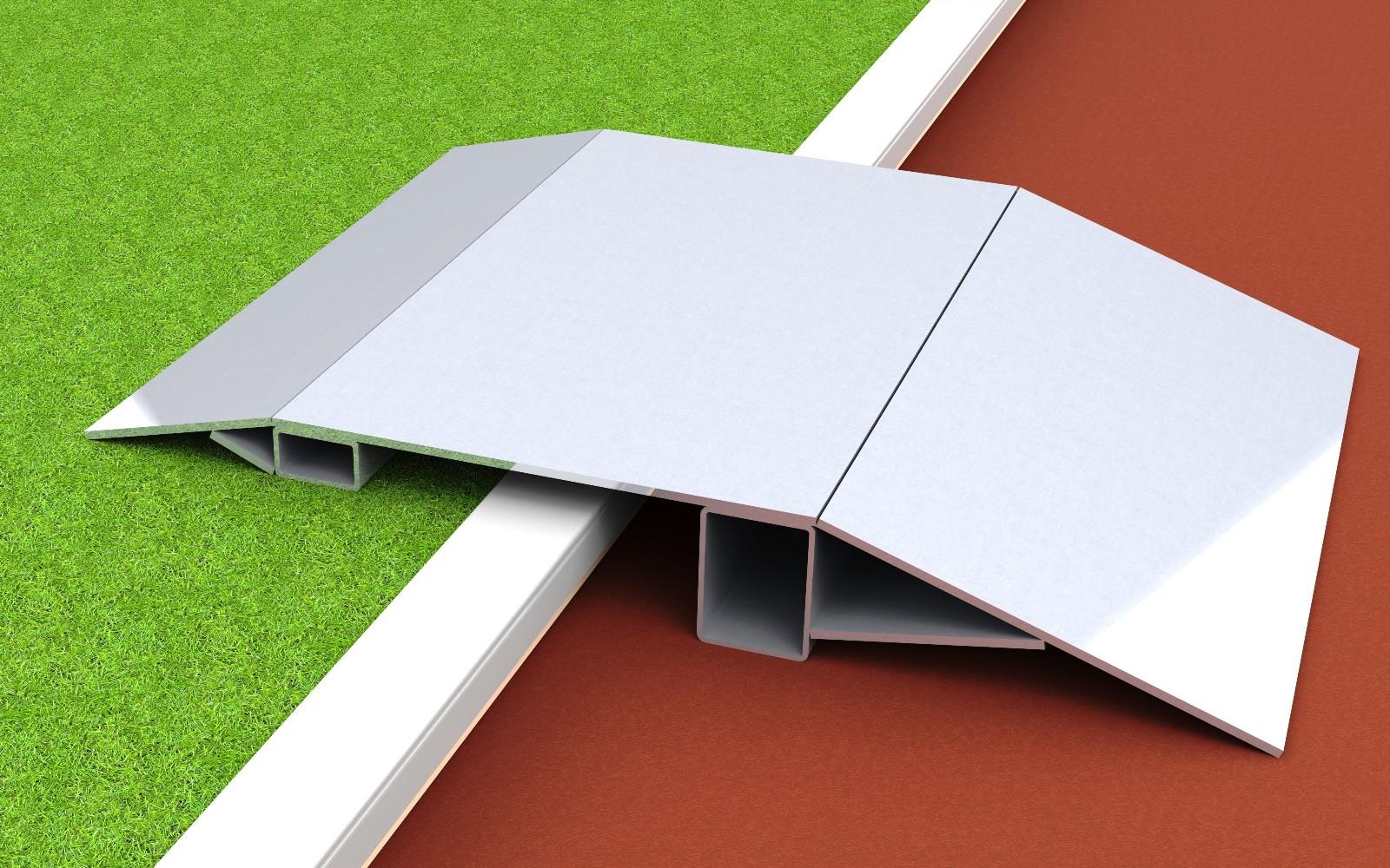 Überfahrrampe aus Aluminium für Stadion und Sportplatz von artec Sportgeräte