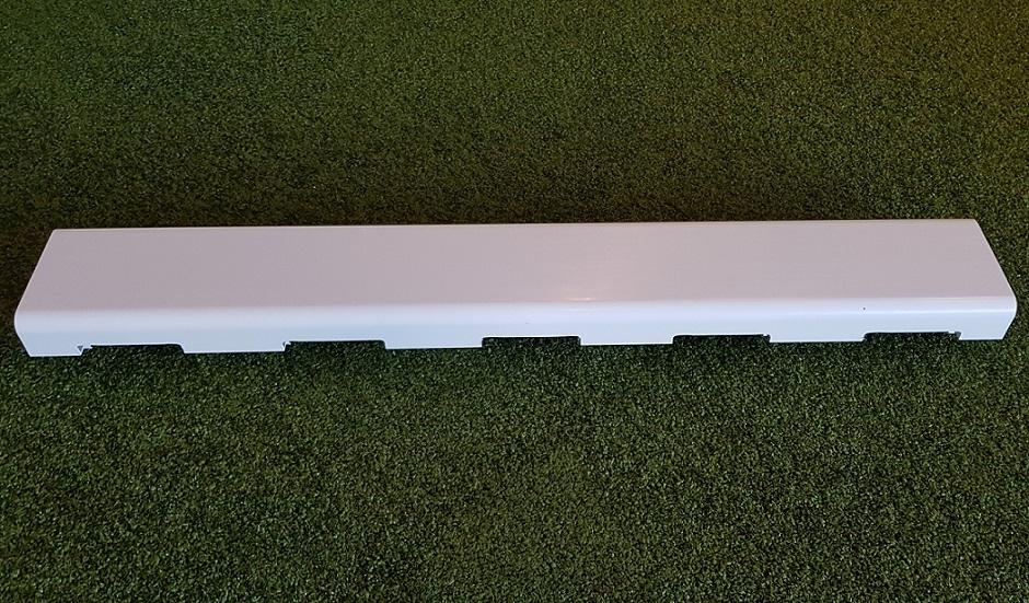 Abdeckung für Sportplatzrinne aus Kunststoff, in gerader Ausführung von artec Sportgeräte