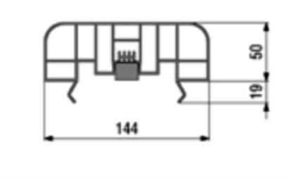 Abdeckung für Sportplatzrinne aus Kunststoff (Gesamtlänge: 100 m), in gerader Ausführung-3159