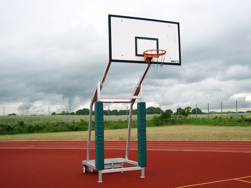 Mobile Basketball-Anlage