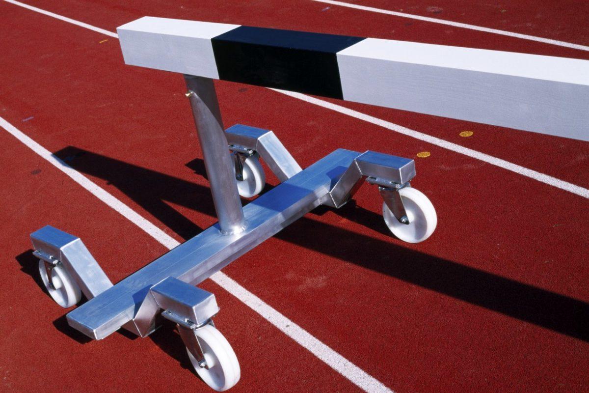 Transportroller aus Aluminium für Hindernisse von artec