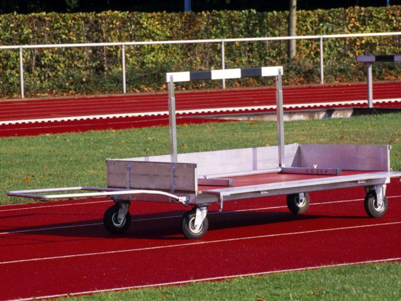 Transportwagen für Stadiongeräte aus Aluminium