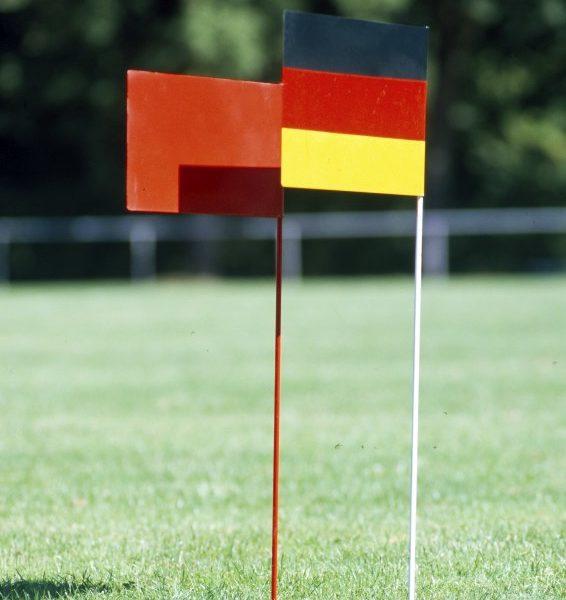 """Markierungsfahne """"Deutscher Rekord"""" von artec Sportgeräte"""