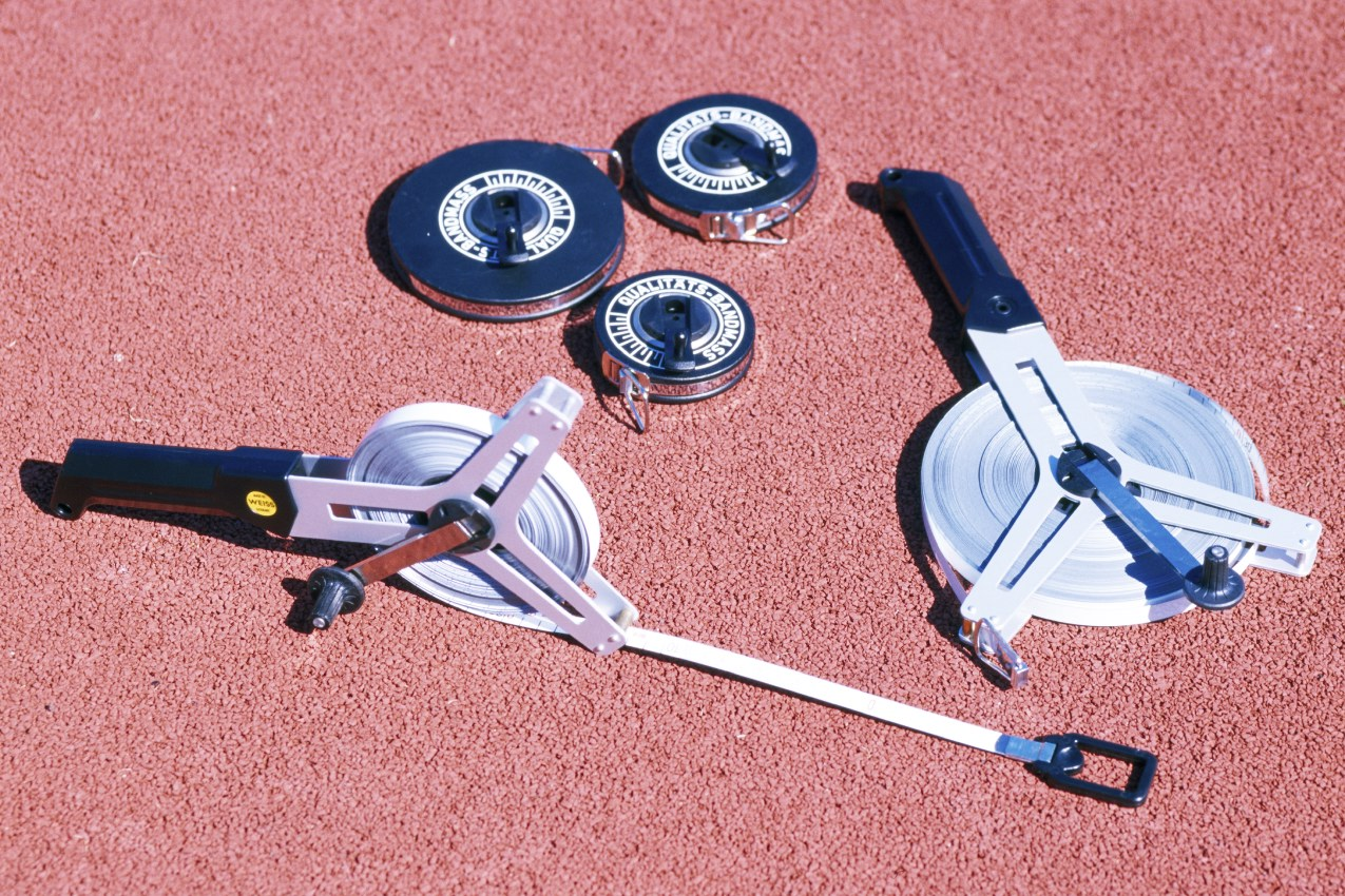 Markierband, weiß, pro Rolle 65 m von artec Sportgeräte