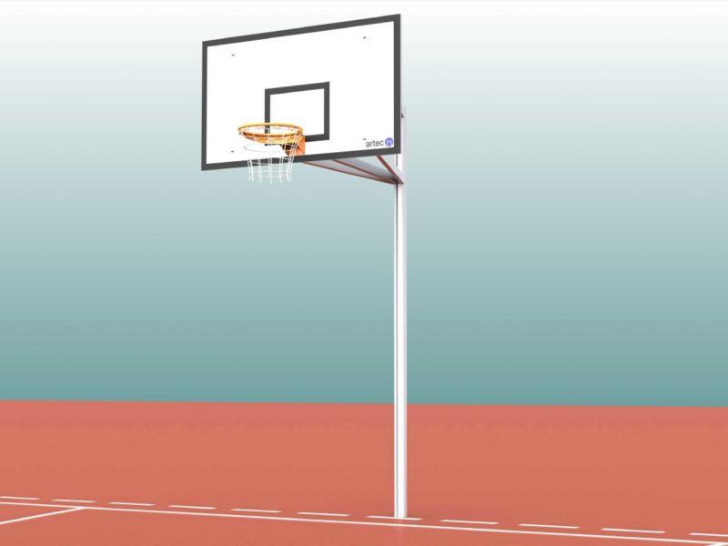 Hochwertiger Basketballständer aus Aluminium