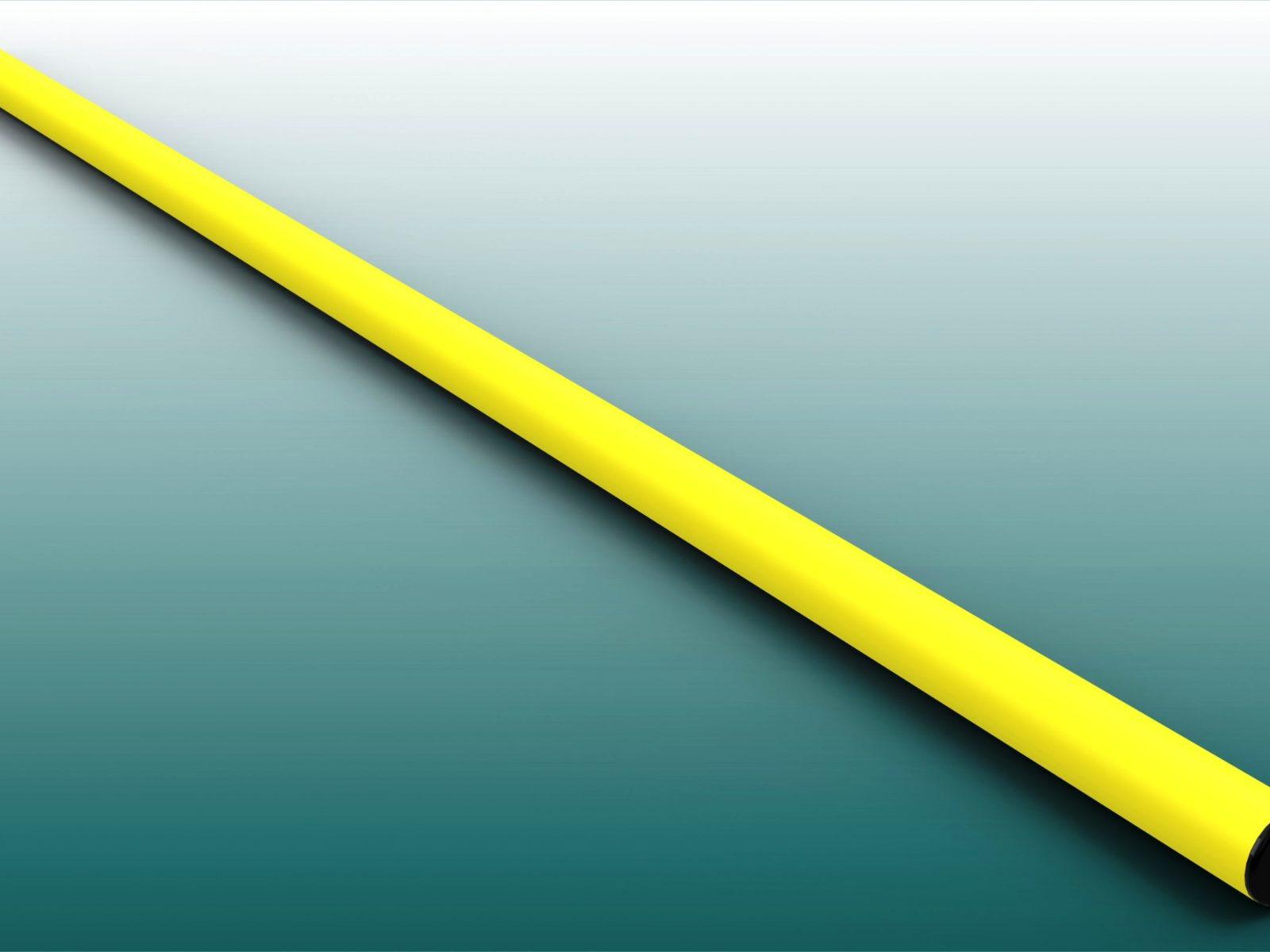 Eckfahnenstange in gelb von artec Sportgeräte