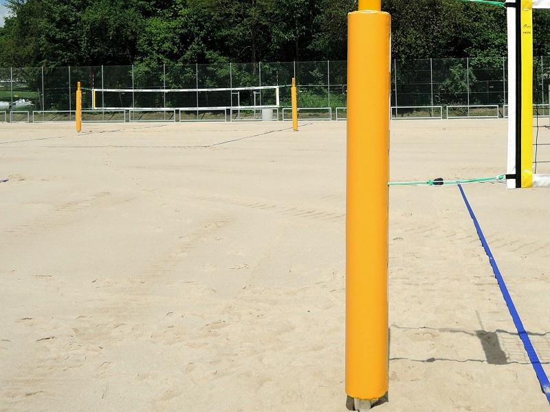 Schutzpolster Beachvolleyball Ovalprofil