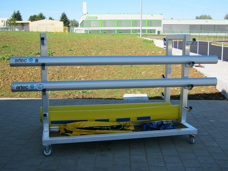 Transportwagen für Beach-Volleyballpfosten