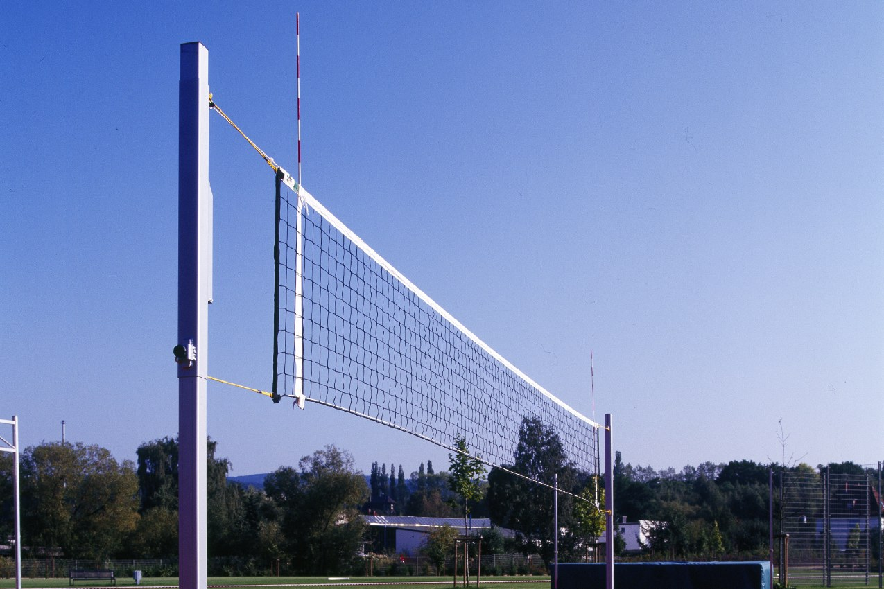 Volleyball-Trainingsanlage aus Aluminium