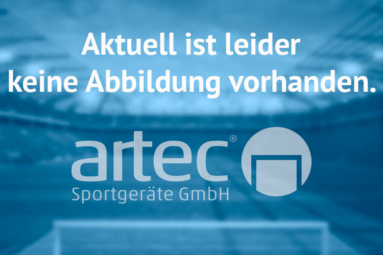 Adapter als verlängerte Pfosten für Handballtore, aus Aluminium von artec Sportgeräte