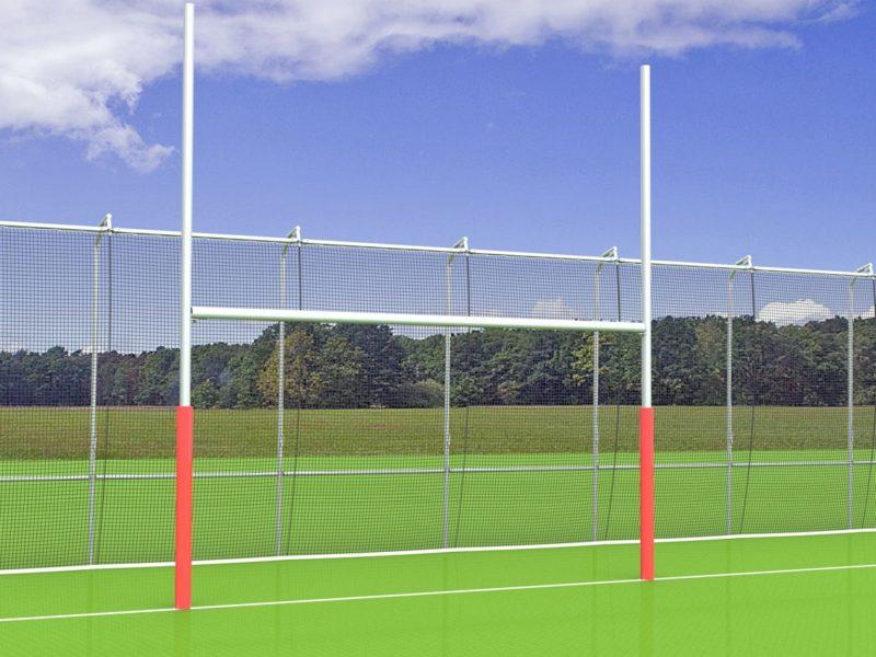 Rugbytor aus Aluminium von artec Sportgeräte