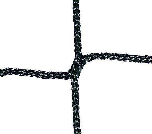 Badmintonnetz aus Polypropylen mit Kevlar-Spannseil, Farbe: schwarz von artec Sportgeräte
