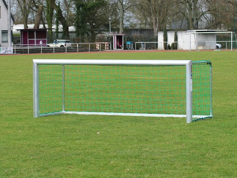 Mini-Fußballtor mit ovalem Profil