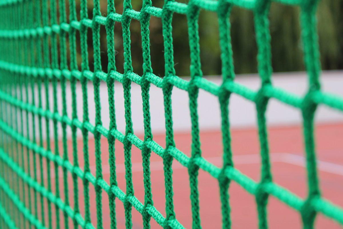 Soccercourt Ballfangnetz on artec