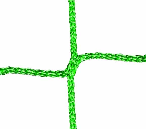 Futsal-Tornetz mit quadratischen Maschen in Grün