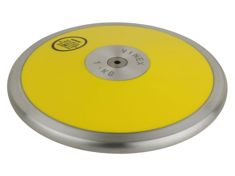 Wettkampf-Diskus aus Kunststoff 1,00 kg