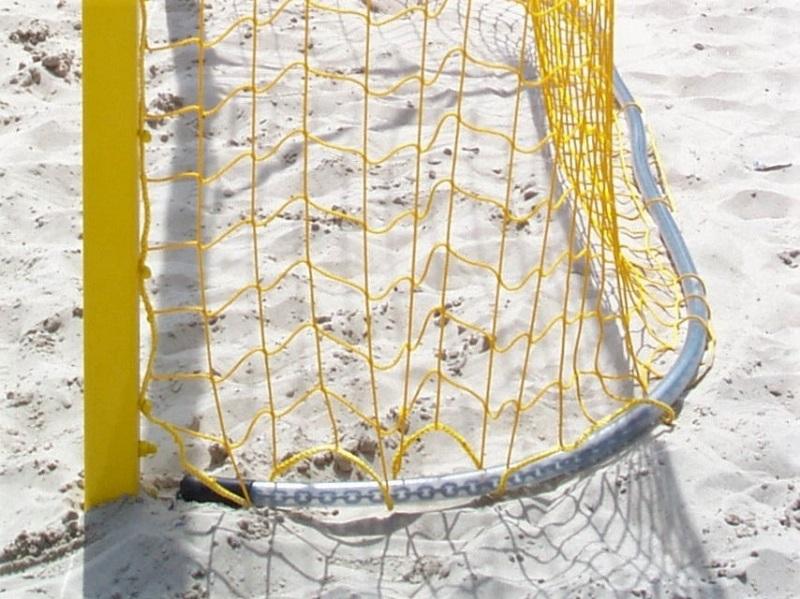 Kettenbeschwerung für Beach-Soccer-Tore