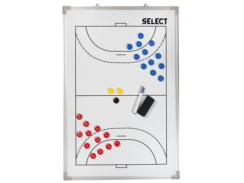 Taktiktafel für Handball