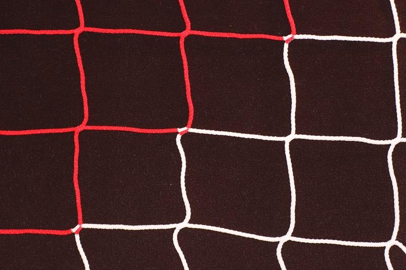 Zweifarbiges Handball-Tornetz
