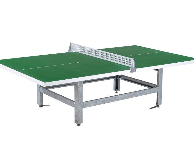 Tischtennistisch mit Höhenverstellung - Fero P30-S grün
